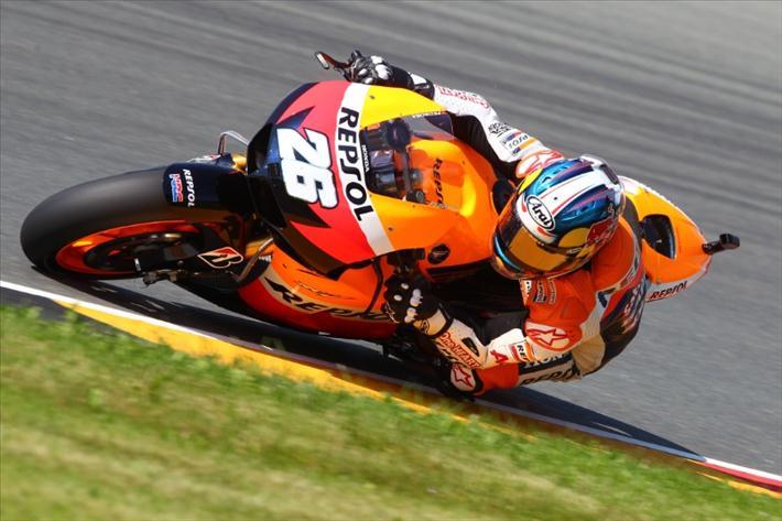 2012 eni Motorrad Grand Prix Deutschland, Дани Педроса
