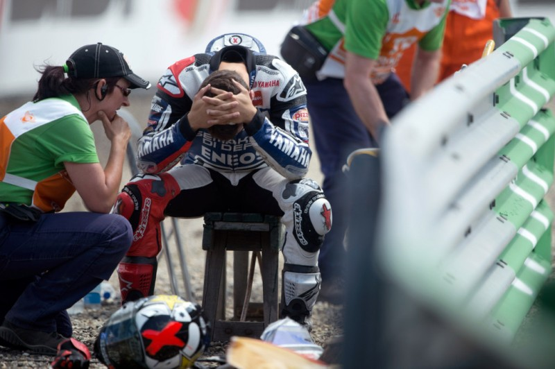 MotoGP, 2012 Iveco TT Assen, Aleix Espargaro dissapointment.