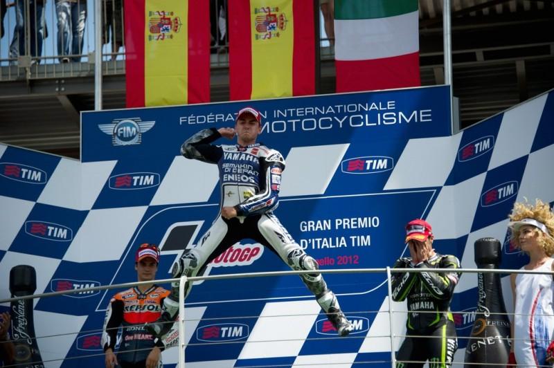 MotoGP, 2012 Gran Premio d-Italia TIM, Хорхе Лоренцо, Дани Педроса, Андреа Довизиосо