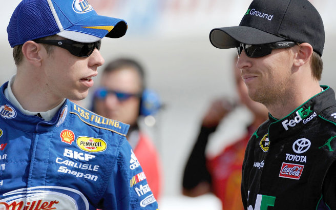 Brad Keselowski might be trending, but is he more of a championship threat than Denny Hamlin?