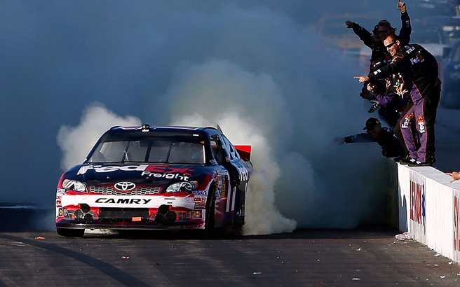 It was a rebound weekend for Denny Hamlin and others as they continue to fight for every pivotal point in the Chase. Check out all from Loudon