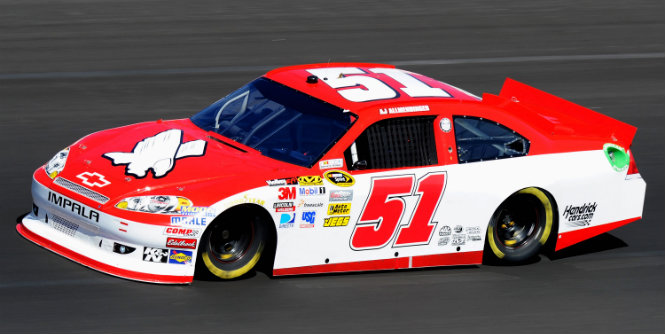 Allmendinger taking return week by week. For Allmendinger, it's one race at a time ... for now. AJ Allmendinger has had a consistently top-15 car at Kansas.