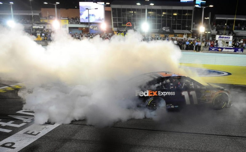 NASCAR: 2013 Ford EcoBoost 400 Race Winner