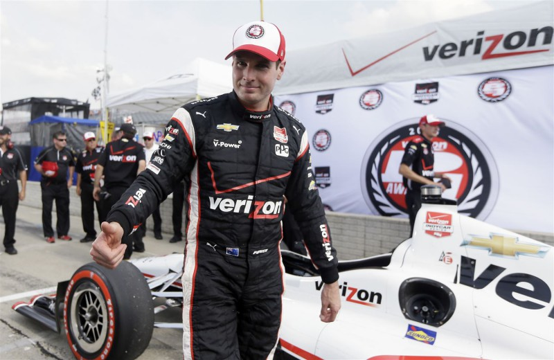 2015 Chevrolet Indy Dual in Detroit (Race 1) Qualifying Winner Will Power.