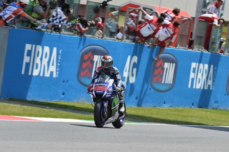 MotoGP: 2015 Gran Premio d'Italia TIM - Winner - Jorge Lorenzo.