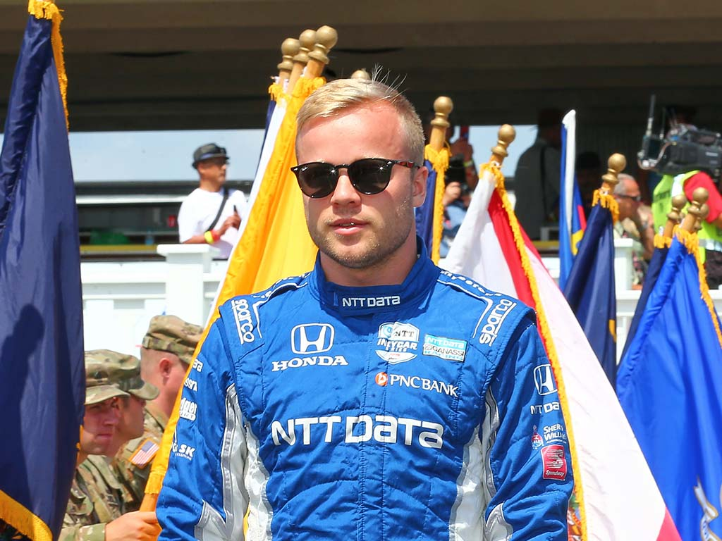 Felix Rosenqvist, IndyCar.