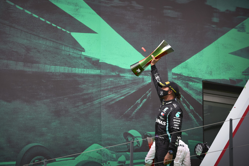 Lewis Hamilton broke Michael Schumacher's record for most career race wins in Formula 1 after scoring a 92nd win at 2020 Portuguese Grand Prix.