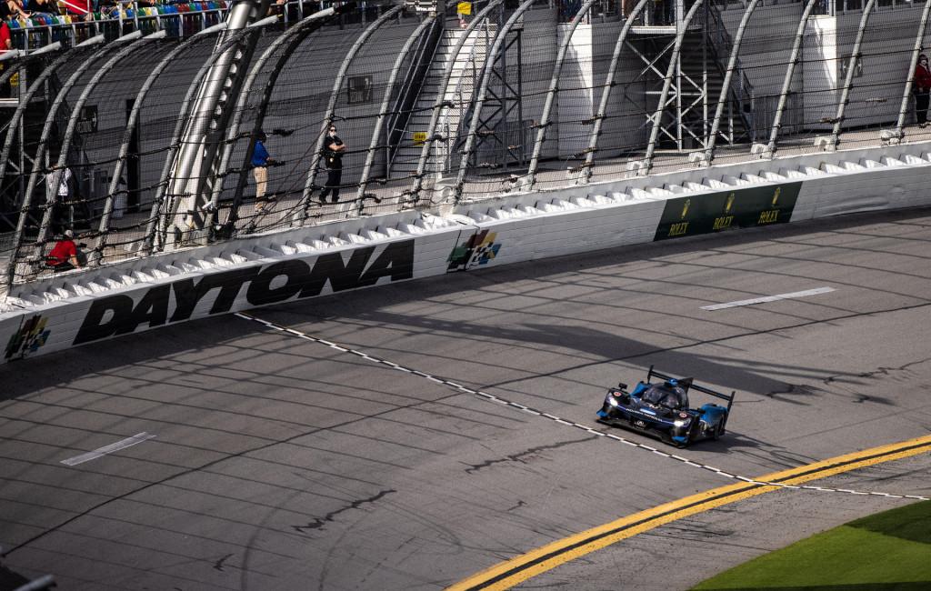 No. 10 Wayne Taylor Racing Acura ARX-05 DPi at the 2021 24 Hours of Daytona.